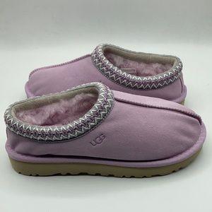 UGG Tasman Lavender Pink Sheepskin Slippers